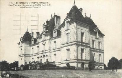"""CPA FRANCE 87 """"Près de Coussac Bonneval, Le Château de Chauffaille"""""""