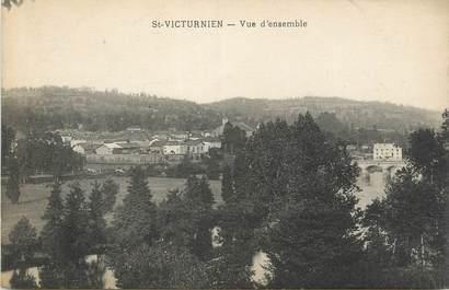 """CPA FRANCE 87 """" St Victurnien, Vue d'ensemble"""""""