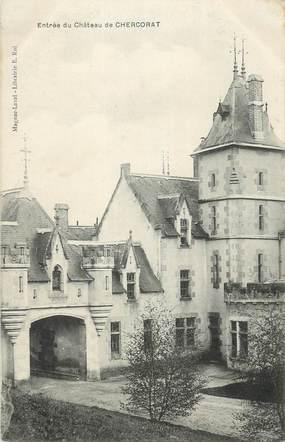"""CPA FRANCE 87 """"Chercorat, L'entrée du château"""""""