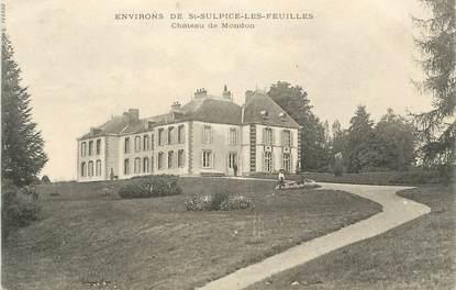 """CPA FRANCE 87 """"Environs de St Sulpice les Feuilles, Château de Mondon"""""""