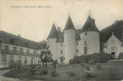 """CPA FRANCE 87 """" Brignac, Le château"""""""