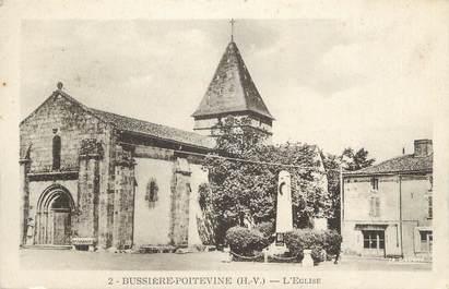 """CPA FRANCE 87 """" Bussière Poitevine, L'église"""""""