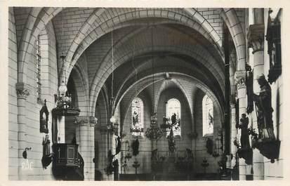 """CPSM FRANCE 87 """"Oradour sur Vayres, Intérieur de l'église"""""""