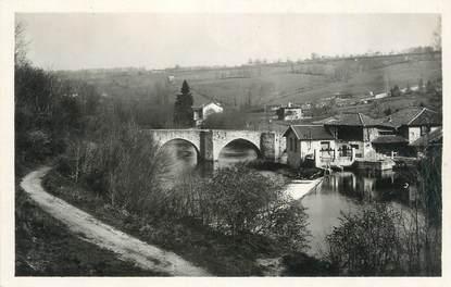 """CPSM FRANCE 87 """"Solignac, Le Pont et la Vallée de la Briance"""""""