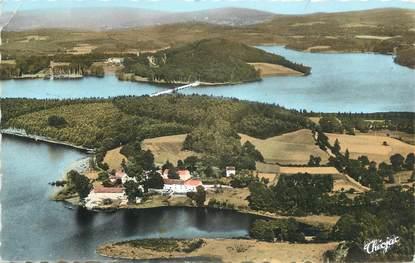"""CPSM FRANCE 87 """"Entre Peyrat le Château et Royere, Le Lac de Vassivière"""""""