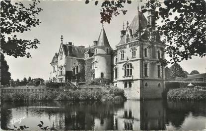 """CPSM FRANCE 87 """"St Mathieu, Le Château du Rocher"""""""