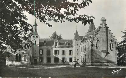 """CPSM FRANCE 87 """" Environs de la Jonchère, Le Château des Egaux"""""""