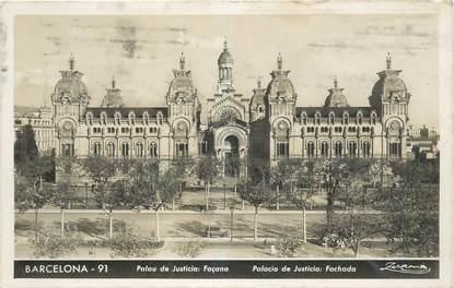 """CPA ESPAGNE """"Barcelone, palais de justice"""""""
