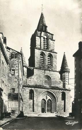 """CPSM FRANCE 87 """" St Junien, L'église"""""""