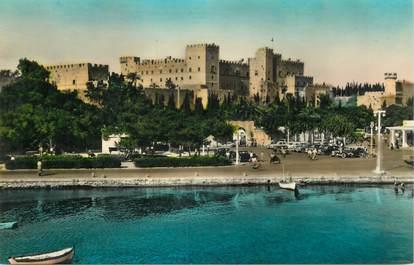 "CPA GRECE ""Rhodes, palais des chevaliers"""