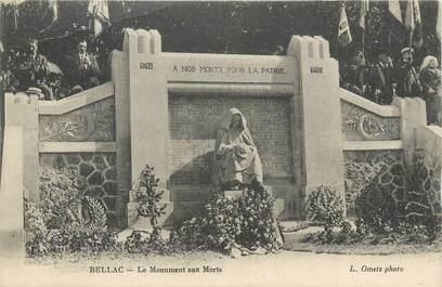 """CPA FRANCE 87 """" Bellac, Le monument aux morts"""""""