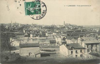 """CPA FRANCE 87 """" Limoges, Vue panoramique"""""""