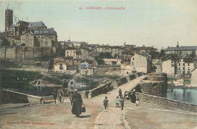"""CPA FRANCE 87 """" Limoges, L'Abbessaille'"""