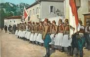 "Europe CPA MONTENEGRO ""Costume national des albanais"""