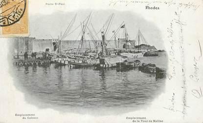 """CPA GRECE """"Rhodes"""""""