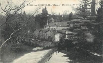 """CPA FRANCE 87 """" Aixe sur Vienne, Le Moulin de la Ferth"""""""