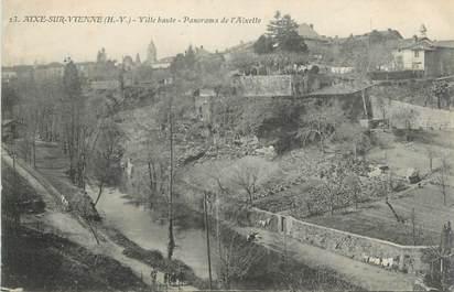 """CPA FRANCE 87 """" Aixe sur Vienne, Ville haute, panorama de l'Aixette"""""""