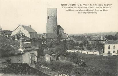 """CPA FRANCE 87 """" Chalus, La tour du Château du Fort"""""""