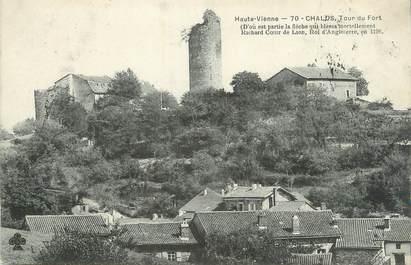 """CPA FRANCE 87 """" Chalus, La tour du fort"""""""