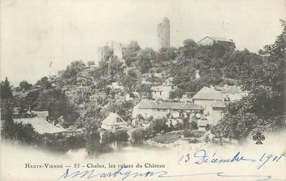 "CPA FRANCE 87 "" Chalus, Les ruines du château"""
