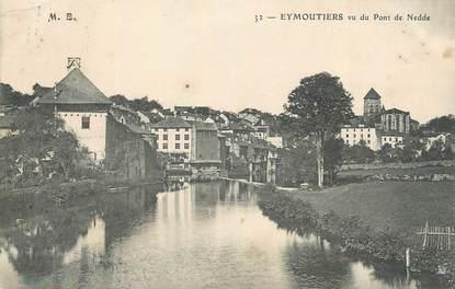 """CPA FRANCE 87 """" Eymoutiers, vu du Pont de Nedde"""""""