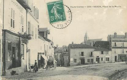 """CPA FRANCE 87 """" Nexon, Place de la Mairie"""""""