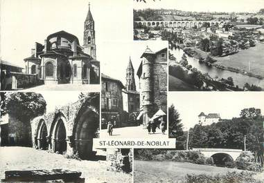"CPSM FRANCE 87 ""St Léonard de Noblat, Vues"""