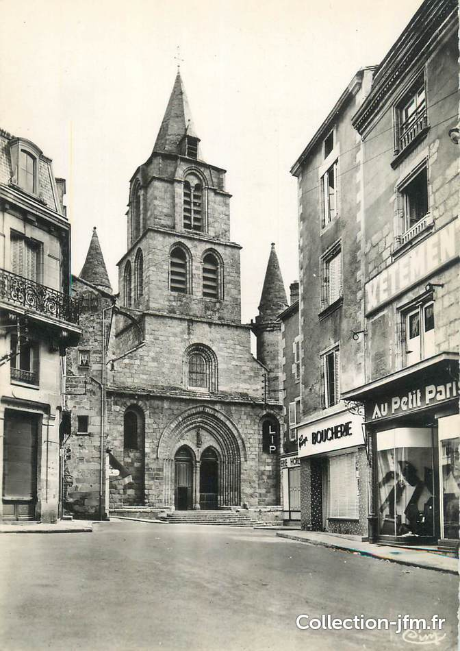 Cpsm france 87 st junien l 39 glise 87 haute vienne for 87 haute vienne france