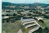 """87 Haute Vienne CPSM FRANCE 87 """"Peyrat le Château, Vue générale aérienne de la Colonie de Vacances de l'EDF"""""""