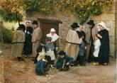 """87 Haute Vienne CPSM FRANCE 87 """" Feytiat, Groupe folklorique Les Pastoureaux de la Valoine"""" / FOLKLORE"""