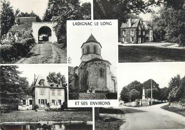 Cpsm france 87 ladignac et ses environs vues 87 for 87 haute vienne france