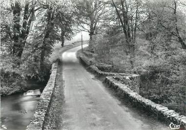 """CPSM FRANCE 87 """"Le Chalard, Ancien pont'"""