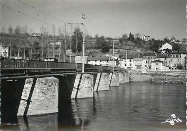 """CPSM FRANCE 87 """"Aixe sur Vienne, Pont sur la Vienne"""""""