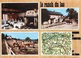 """87 Haute Vienne CPSM FRANCE 87 """" Eymoutiers, Le Ranch du Lac, son hôtel restaurant"""""""