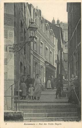 "CPA FRANCE 59 ""Avesnes, Rue des Petits Degrès"""