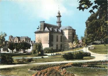 """CPSM FRANCE 87 """" St Yrieix la Perche, Jardin de l'Hôtel de Ville"""""""