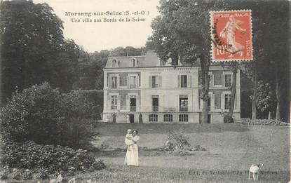 """CPA FRANCE 91 """" Morsang sur Seine, Une villa aux bords de la Seine"""""""