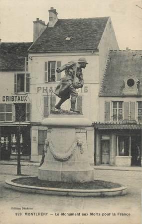 """CPA FRANCE 91 """" Montlhéry, Le monument aux morts"""""""
