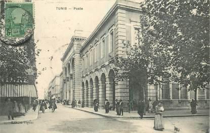 "CPA TUNISIE ""Tunis, la poste"""