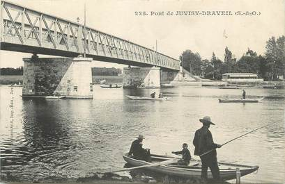 "CPA FRANCE 91 "" Juvisy - Draveil, Le pont"""
