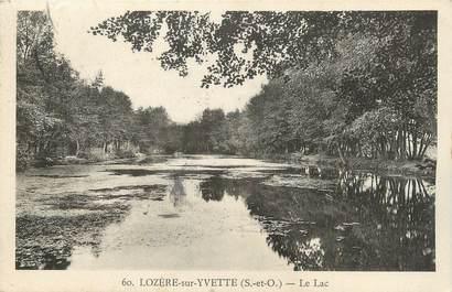 """CPA FRANCE 91 """" Lozère sur Yvette, Le lac"""""""