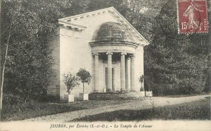 "CPA FRANCE 91 "" Jeurre, Le temple de l'amour"""