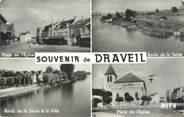 """91 Essonne CPSM FRANCE 91 """"Draveil, Vues"""""""