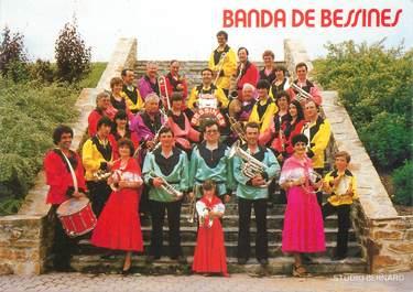 """CPA FRANCE 87 """" Bessines sur Gartempe, Des musiciens"""""""