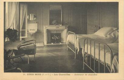 """CPA FRANCE 91 """" Athis Mons, Les Charmilles, Intérieur de chambre"""""""