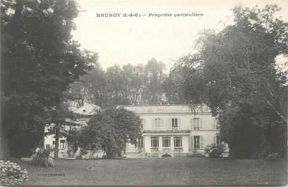 """CPA FRANCE 91 """" Brunoy, Une propriété"""""""