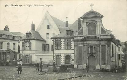 "CPA FRANCE 59 ""Maubeuge, Hôpital militaire"""
