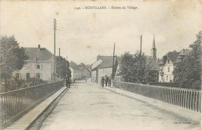 "CPA FRANCE 90 "" Morvillars, Entrée du village"""