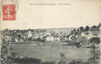 """CPA FRANCE 90 """" Delle, Vue générale"""""""