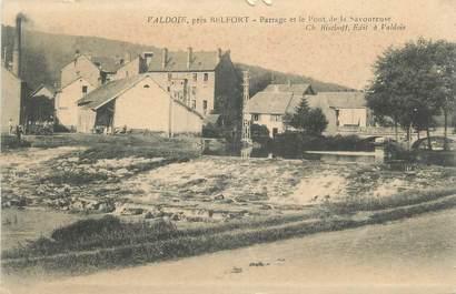 """CPA FRANCE 90 """" Valdoie, Barrage et le pont de la Savoureuse"""""""